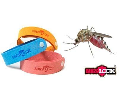 5 броя гривни против комари с натурални масла