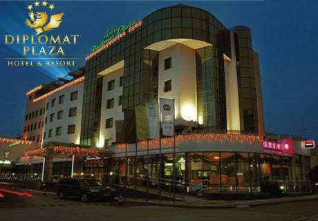 Нощувка за един човек, закуска, вечеря с музикална програма + СПА пакет  в хотел Diplomat Plaza****, Луковит на 13.09