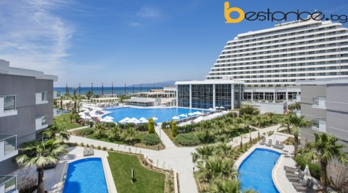 7 нощувки на база   ultra All inclusive на човек  в PALM WINGS EPHESUS BEACH RESORT & SPA, Кушадасъ