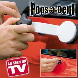 Изправяне на вдлъбнатини по купето на автомобила с POPS-A-DENT